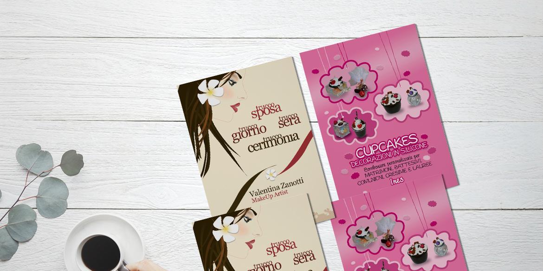 Plumeria MakeUp · Flyer doppio