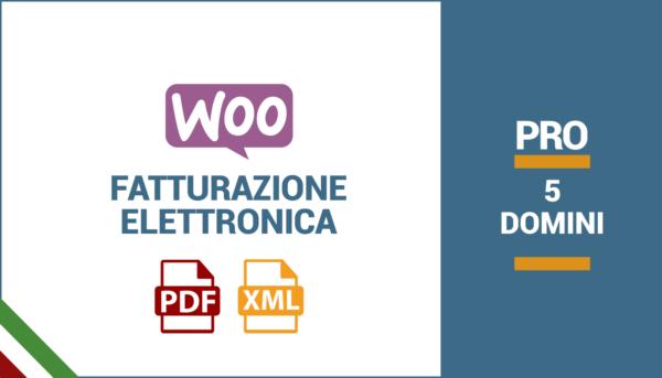 Plugin WooCommerce P.IVA e Codice Fiscale per Italia PRO | 5 Domini
