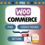 Plugin WooCommerce p.iva e Codice Fiscale per Italia PRO con fatturazione elettronica