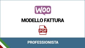 Modello fattura per professionista (gestione separata)